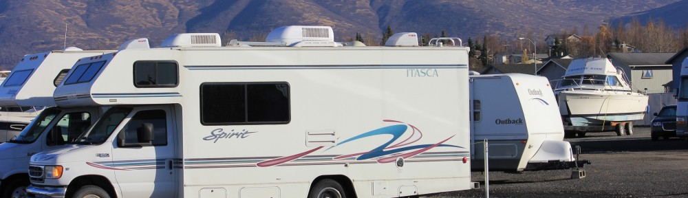 Secure RV Storage in Anchorage
